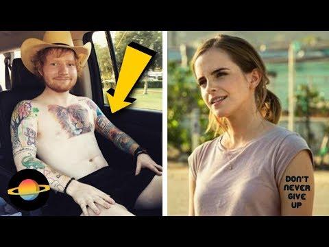 10 znanych osób, które zrobiły sobie tatuaż z błędem
