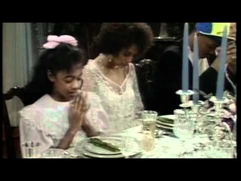Fresh Prince - Will's First Dinner Party (Ashley says grace) HD