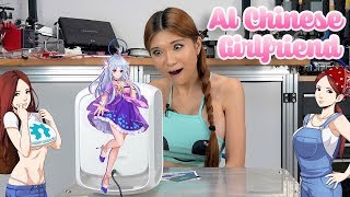 Holographic Chinese AI Girlfriend- Review and Unboxing