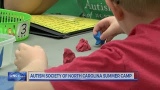 Autism Society of North Carolina summer camp for kids