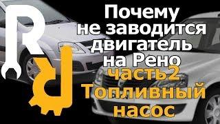 Причина почему не заводится рено часть2 -The reason why not start fuel pump Renault part2(, 2015-01-18T05:37:32.000Z)