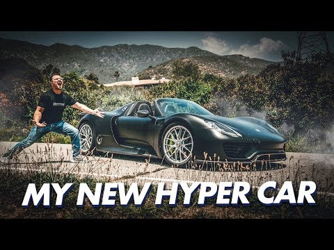 I JUST BOUGHT A PORSCHE 918 SPYDER HYPERCAR ! , YouTube