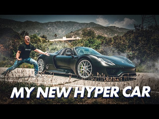 I JUST BOUGHT A PORSCHE 918 SPYDER HYPERCAR !