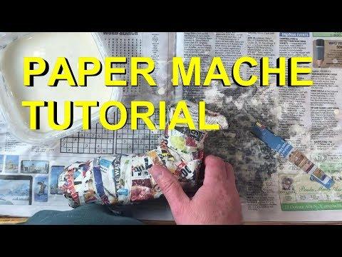 Paper Mache Tutorial