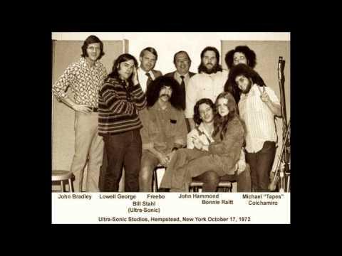Bonnie Raitt, Lowell George, John Hammond and Freebo 10/17/72 Ultrasonic Studios (audio only)