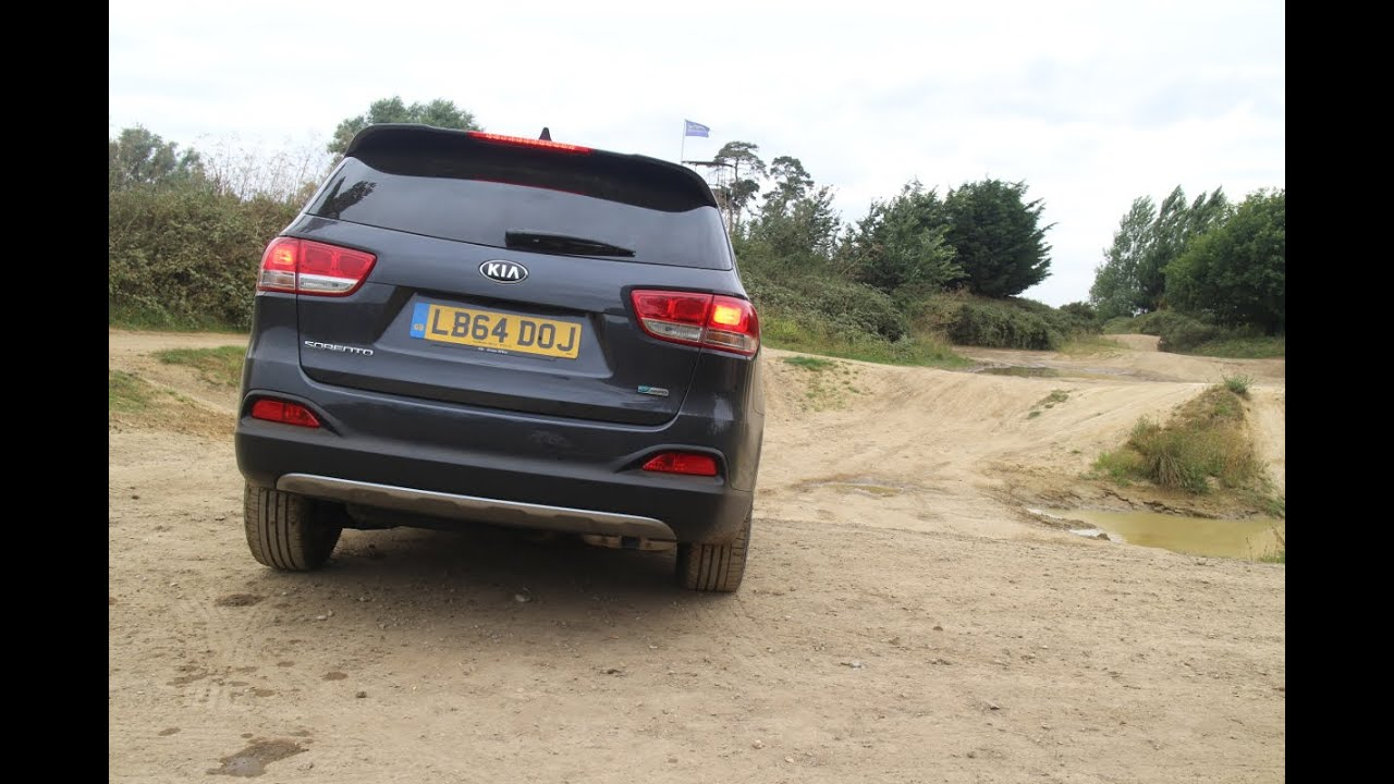 Review Kia Sorento AWD off road  Road Trip E1  Cambridge TV