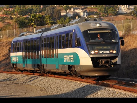 Sprinter Train: Escondido to Oceanside