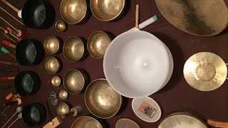 3Hours TIBETAN SINGING BOWLS, Ocean, nature sounds, MEDITATION MUSIC cuencos tiebetanos