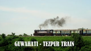 GUWAHATI - TEZPUR TRAIN SERVICE: 15815 Kamakhya - Dekargaon INTERCITY EXPRESS with NGC ALCo WDM2 thumbnail