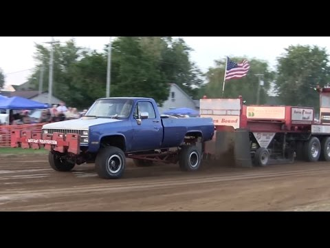 Central Illinois Truck Pullers - 2015 Butler Homecoming Truck Pulls - Butler, IL