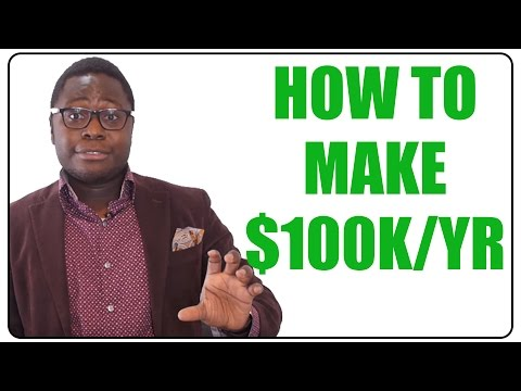 How to Make $100,000 a Year in Your 20s (Hacking Six Figures