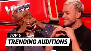 TRENDING Blind Auditions of 2020 in The Voice