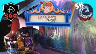 Peter Pan's Flight 360 FULL RIDE 5K Disneyland California