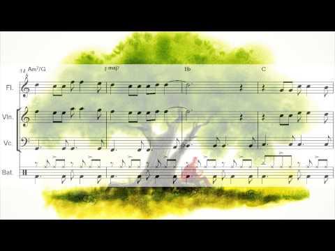 Aquarela (Toquinho) Flauta, Violino, Cello, Bateria