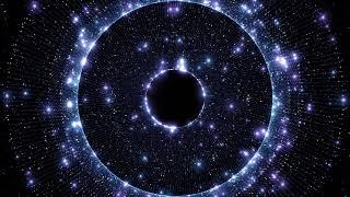 4K Blue Moving Background   Sparkling Fiber Ring #AAVFX VJ Effect