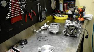 IAME X30 125cc engine Rebuild (Full Version)
