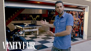 why zachary levis man cave is prepared against zombie attack vanity fair