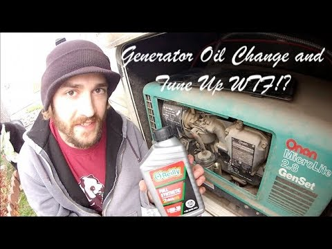 Onan 2 8 Oil Change and Tune Up Frustrations