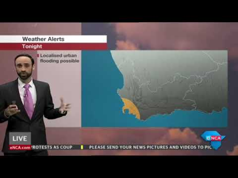 eNews Weather Evening   23 April 2018