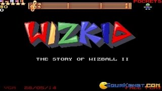 Wizkid gameplay (PC Game, 1992)