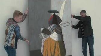 Elämysten taustalla Taidekeskus Salmela, taidemaalari Lauri Laine