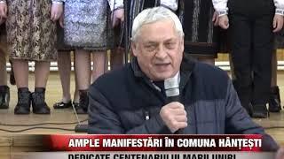 Ample manifestări în Hânțești, dedicate Centenarului Marii Unirii