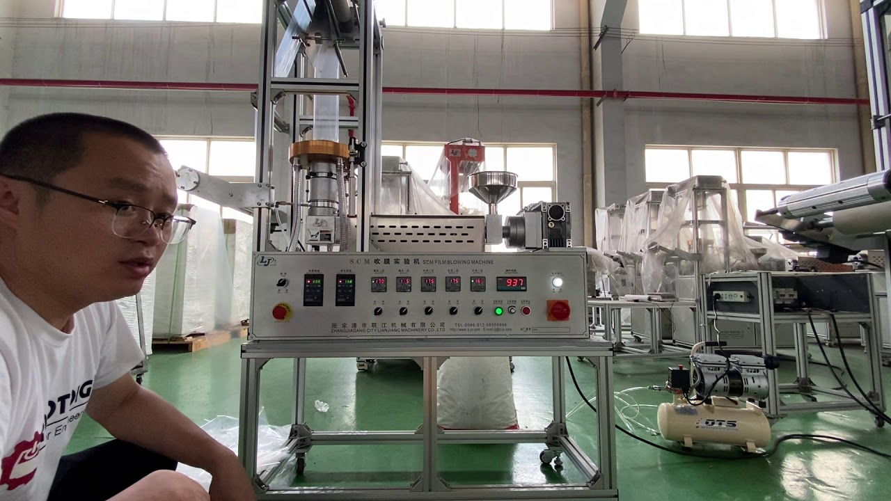 Film blowing machine SCM20 or SCM25 which are 20 or 25 screw how to from RobotDigg