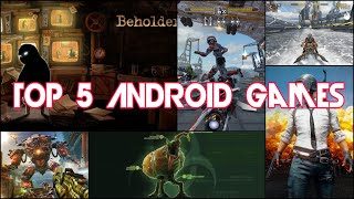 Top 5 Android Games 2018 [ Game Zone ]