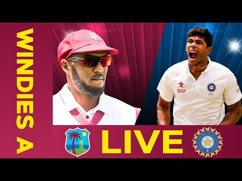 🔴LIVE West Indies A Vs India A   Day 4   Third Test