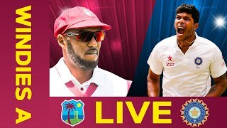 LIVE cricket between West Indies A and India A in Day 4 of the Third Test