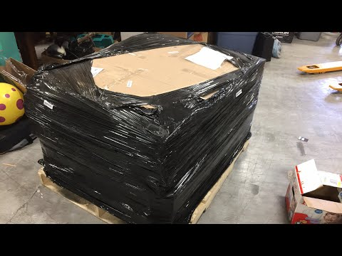 I bought a pallet of small electronics returns to sell on eBay | unboxing video