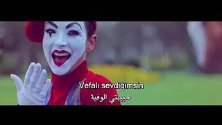 01 مصطفى جيجلي   لون الورد   اغنيه تركيه مترجمه