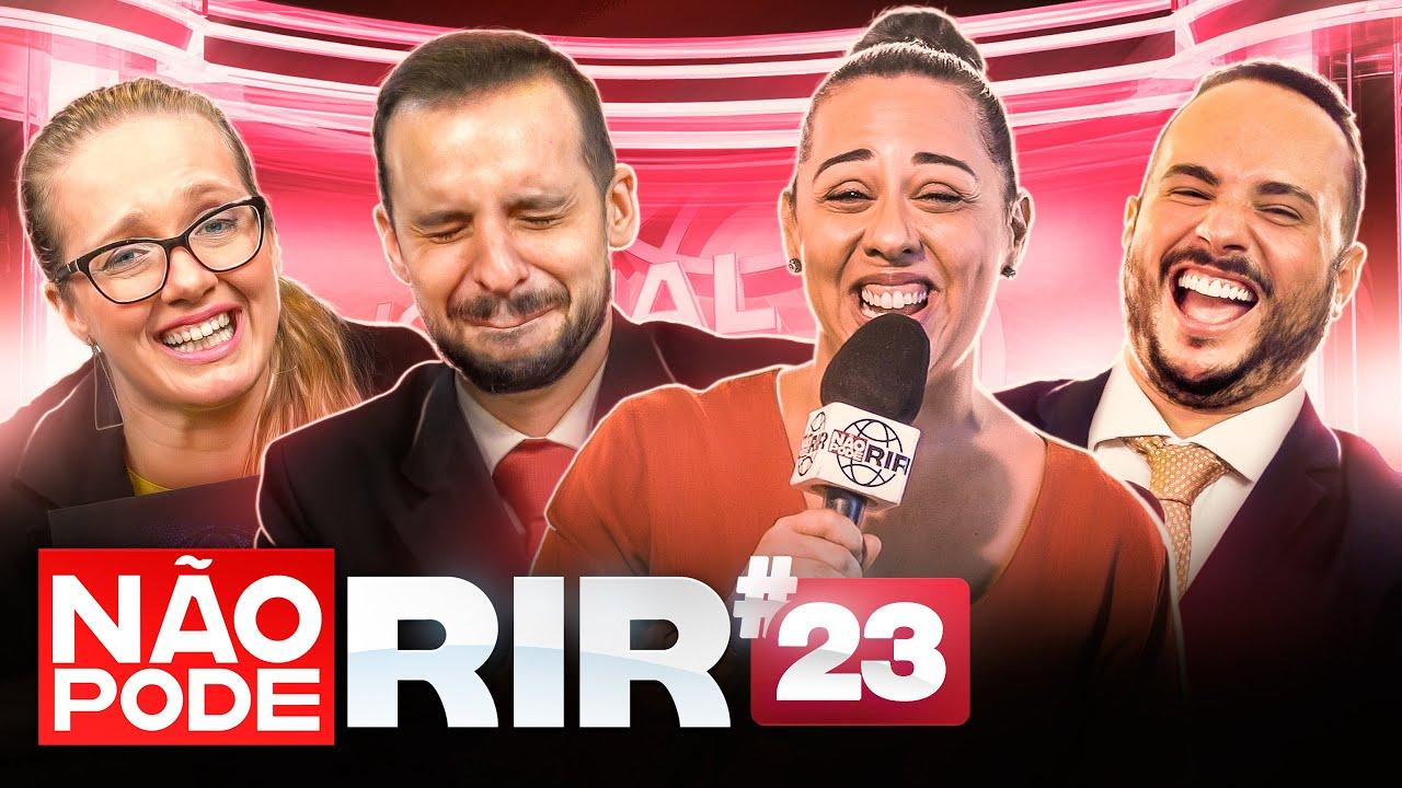 JORNAL NÃO PODE RIR com Evelyn Castro, Marcos Castro, Luciana D'Aulizio e Ed Gama