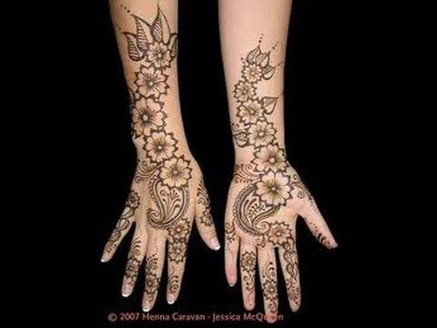 Beautiful Arabian Henna Design For Eid Diwali Karwa