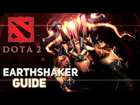 видео: dota 2 Гайд по герою - Шейкер | the earthshaker | raigor stonehoof | Землетрясун - Фиссуру дай! :d