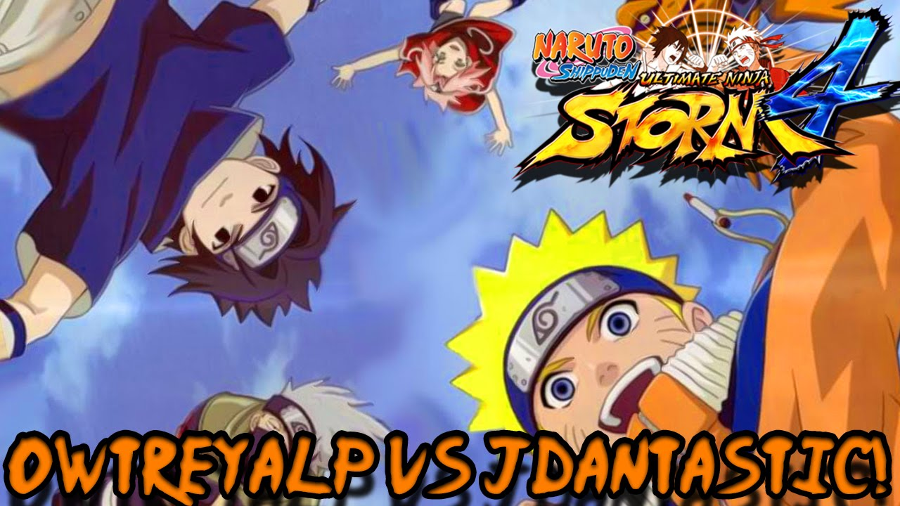 The Wrath of Team 7! owTreyalP vs jDantastic! | Naruto Ninja Storm 4 Fights