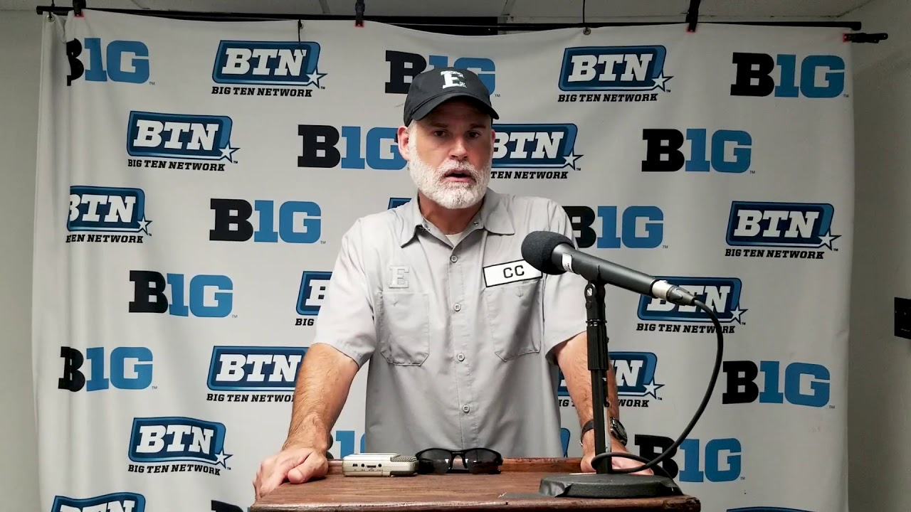 EMU Football Chris Creighton Press Conference - Illinois - YouTube