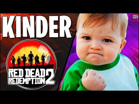 KINDER In RED DEAD REDEMPTION 2 // Red Dead Redemption 2 KEY GIVEAWAY