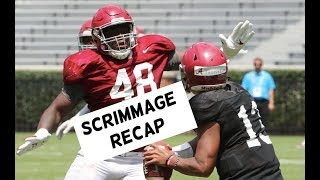 WATCH: 10 things we learned from Alabama Football's first scrimmage