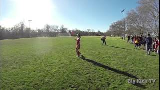 Girl Slow Motion Soccer Juggling   Go Pro Hero Black 3+   240 FPS   120 FPS   Challenge Soccer Club