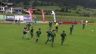 U15(2003) 1. FSV MAINZ 05 - KIA football academy Iran 4:3n11m; HALBFINALE Cordial Cup Kitzbühel 2018
