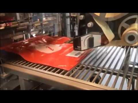 ILS-Autolabel T63 eTamp in Bagging Machine - Print-Apply Bag Labeller