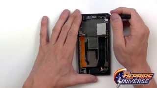 Разбор и замена стекла Sony Xperia Z(Замена стекла Sony Xperia Z., 2013-10-14T10:28:01.000Z)