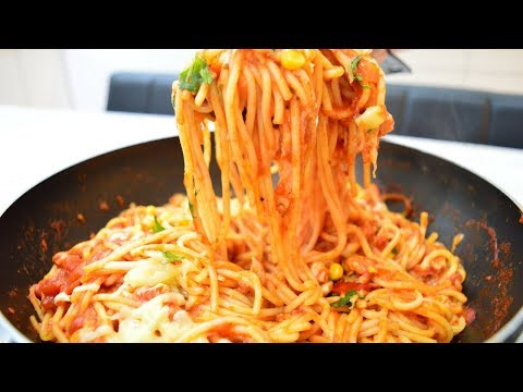 How to cook Tasty Spicy Chicken Spaghetti   Indian Cooking Recipes   Cook with Anisa