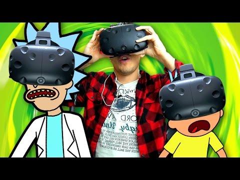 RICK AND MORTY VR - NOVO GAME EM REALIDADE VIRTUAL (Legendado pt-br)
