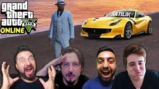 FERRARİSİNİ SATAN BİLGE! | EKİPLE GTA 5 KAMERA ARKASI ÇEKİMLER