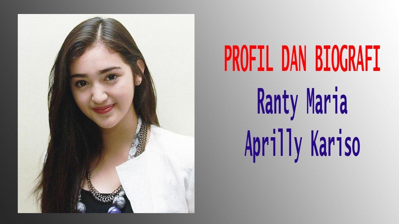 Profil Dan Biografi Ranty Maria Aprilly Kariso