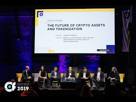 Crypto panel: the future of crypto assets and tokenization. The CryptoFin Conference 2019