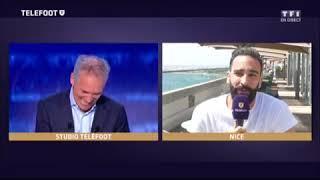Adil Rami demande à Denis Brogniart un collier d'immunité!!!