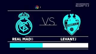 Real Madrid X Levante, às 8h, pela 9ª rodada do Espanhol!